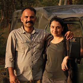 Ashwin and Chandni Gurusrikar