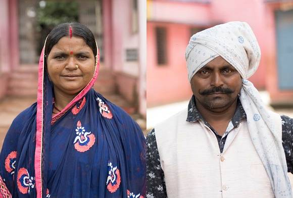 Kheer and Mahilabai Pardhi