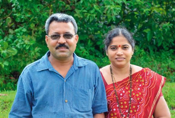 Rajendra and Pournima Kerkar